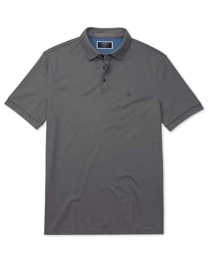 Charcoal Jersey Lapwing polo