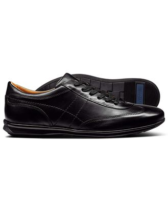 Black work trainers