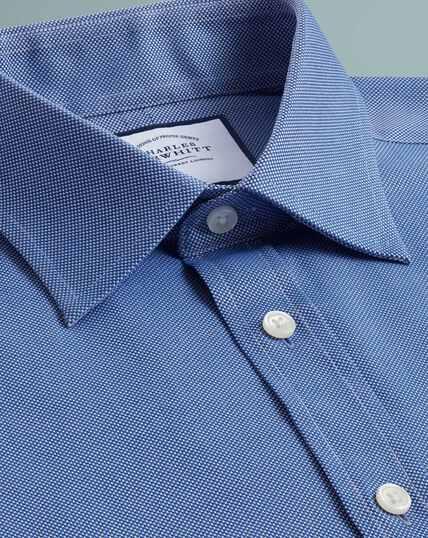 Egyptian Cotton Royal Oxford Shirt - Royal Blue