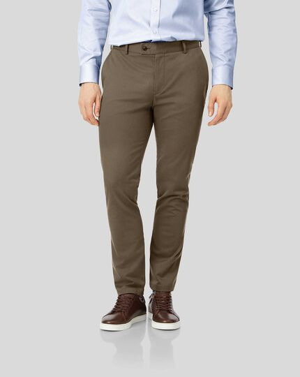 Ultimate Non-Iron Chinos - Mocha