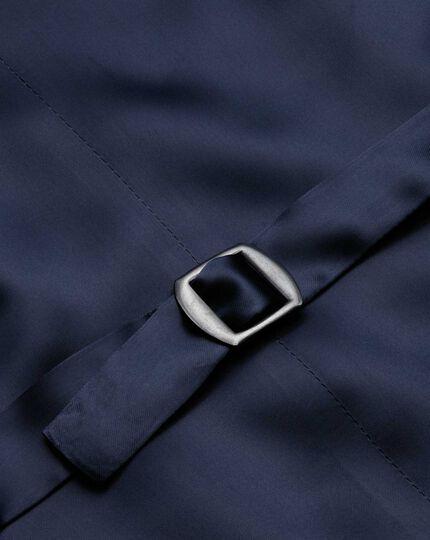 Verstellbare Panama  Luxus Anzug Weste in Blau