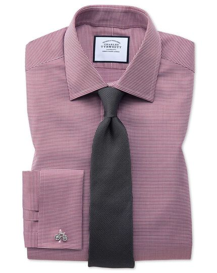 Charcoal silk plain classic tie
