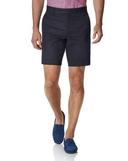 Chino-Shorts in Marineblau