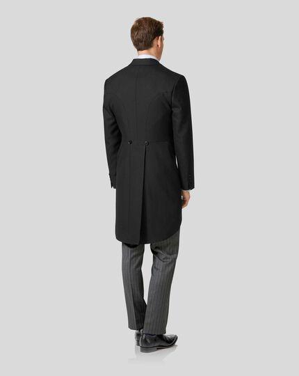"100/% Wool Traditional Black Morning Coat 48/"" Regular Made in the UK"