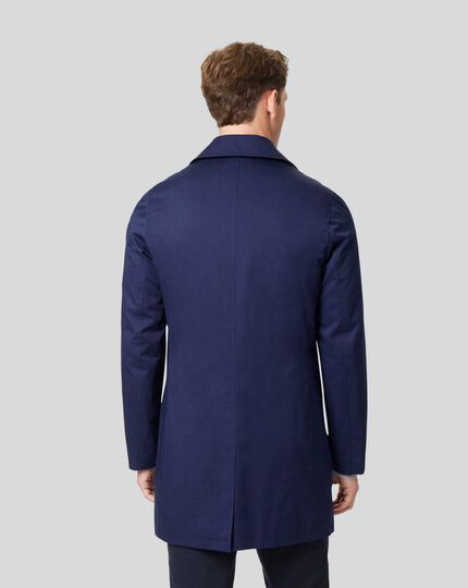 Italian Raincoat - Royal Blue