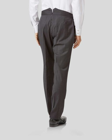 Morning Suit Trousers - Black