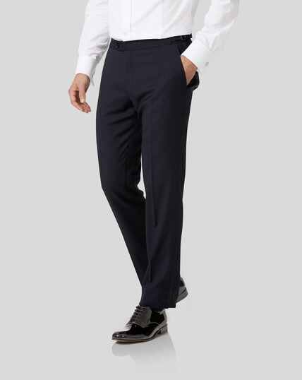 Tuxedo Trousers - Midnight Blue