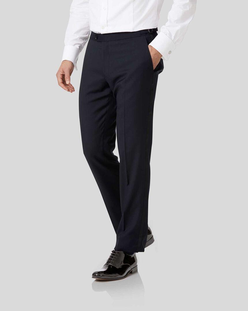 Tuxedo Pants - Midnight Blue