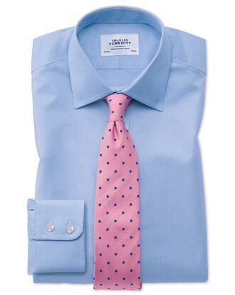 Classic fit Oxford sky blue shirt