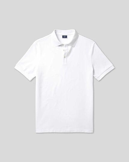Tyrwhitt Piqué-Polo - Weiß