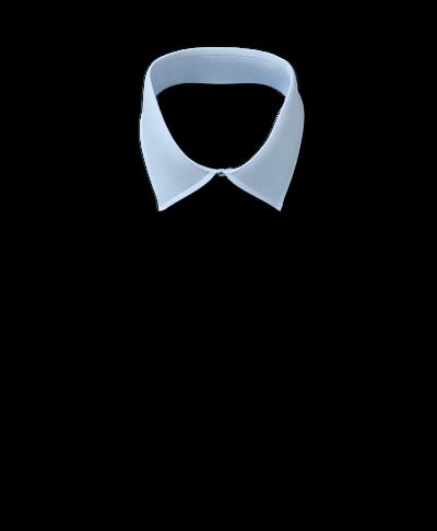 Classic Collar Non-Iron Poplin Shirt  - Sky