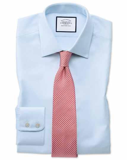 Egyptian Cotton Royal Oxford Shirt - Sky Blue