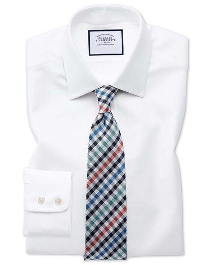 a8977fb4 Slim fit Egyptian cotton royal Oxford white shirt | Charles Tyrwhitt