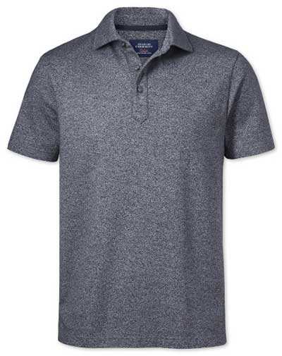 This is an image of a polo shirt