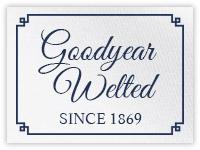 Seit 1869 Goodyear-rahmengenäht