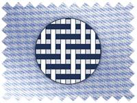 Puppytooth weave shirt illustration