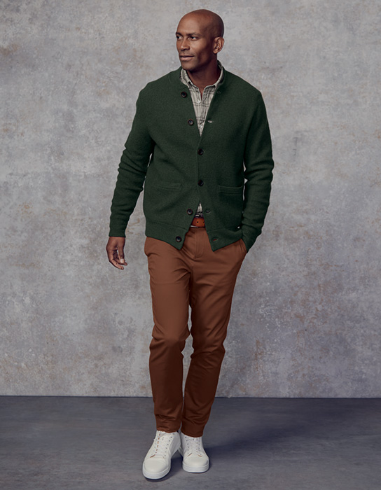 Man in chinos