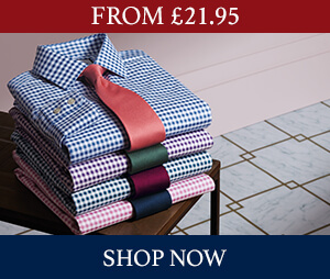From £21.95 on formal shirts