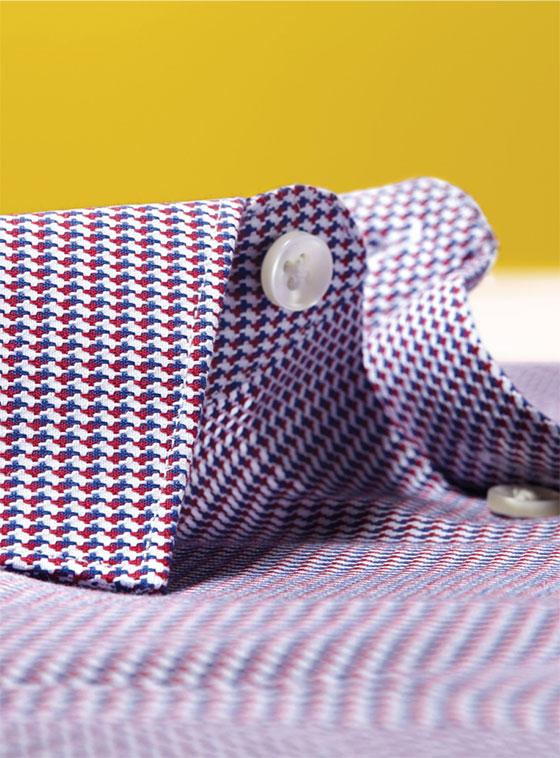 modern texture shirt detail