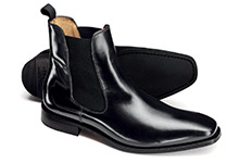 Chelsea boot shoe design