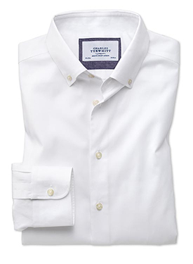 Non-iron business casual shirt
