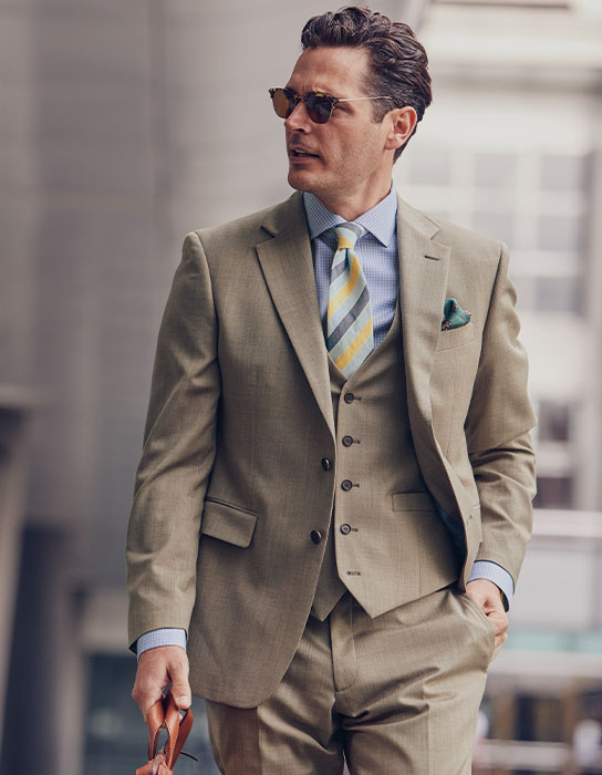 Man in occasion suit