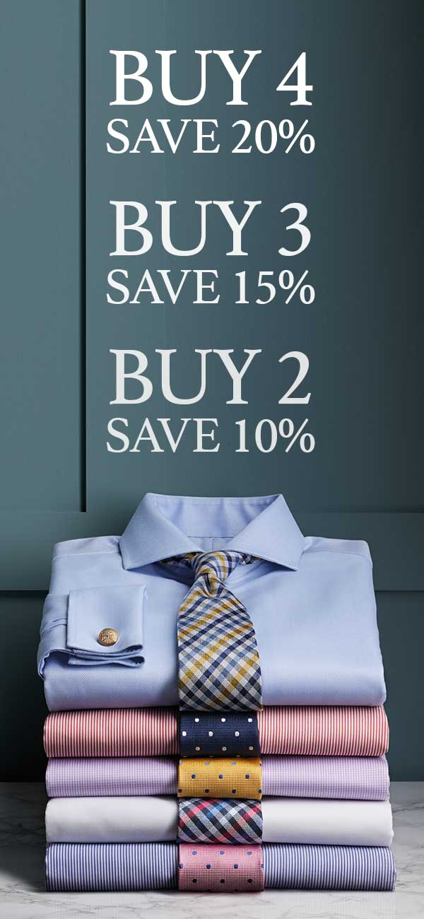 Charles Tyrwhitt multi-buy shirts