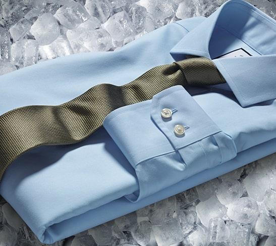 Tyrwhitt Cool Hemden in vier Farben: blau, grün, rosa und orange