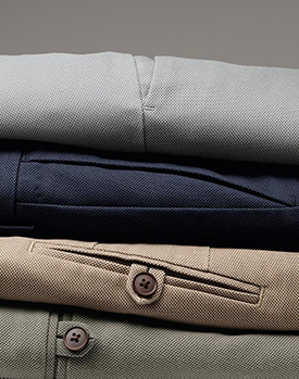 selection of pants