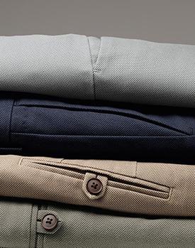 selection of pants