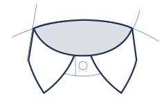 Businesshemd mit Kent-Kragen Abbildung