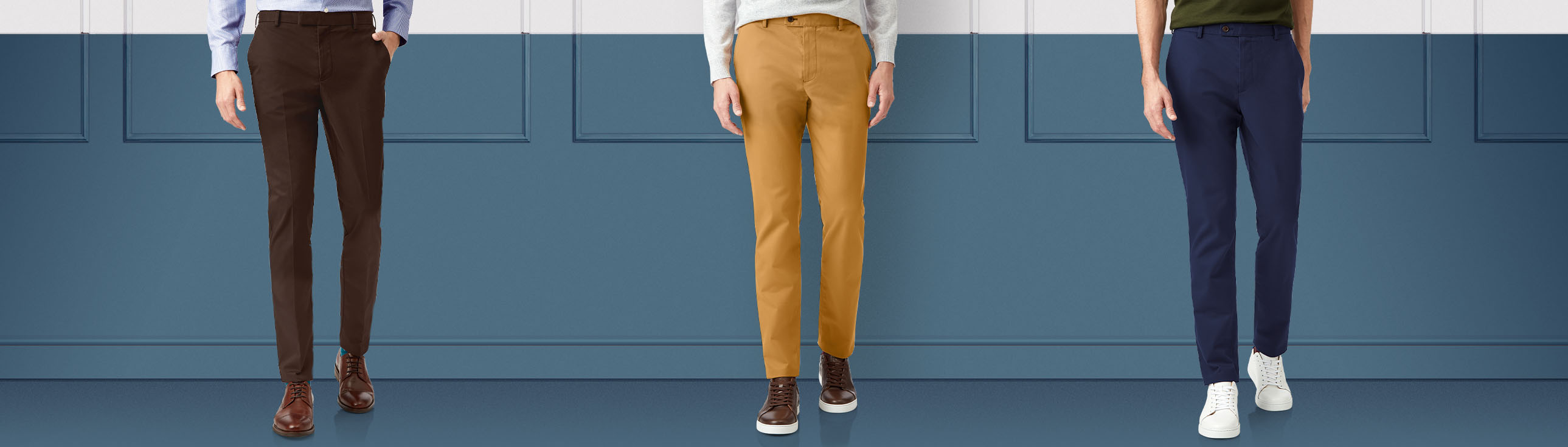 trousers - chinos