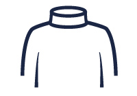Turtle neck illustration
