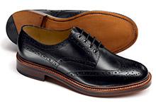 Derby Schuh Design