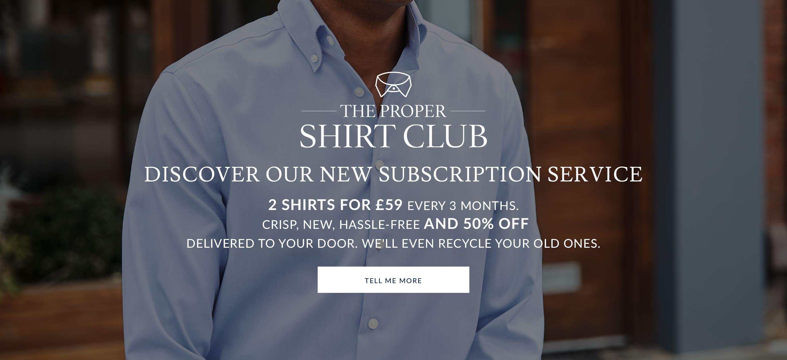 a white and a blue shirt