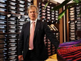 Nick Wheeler praises quality of Yorkshire's textiles industry.