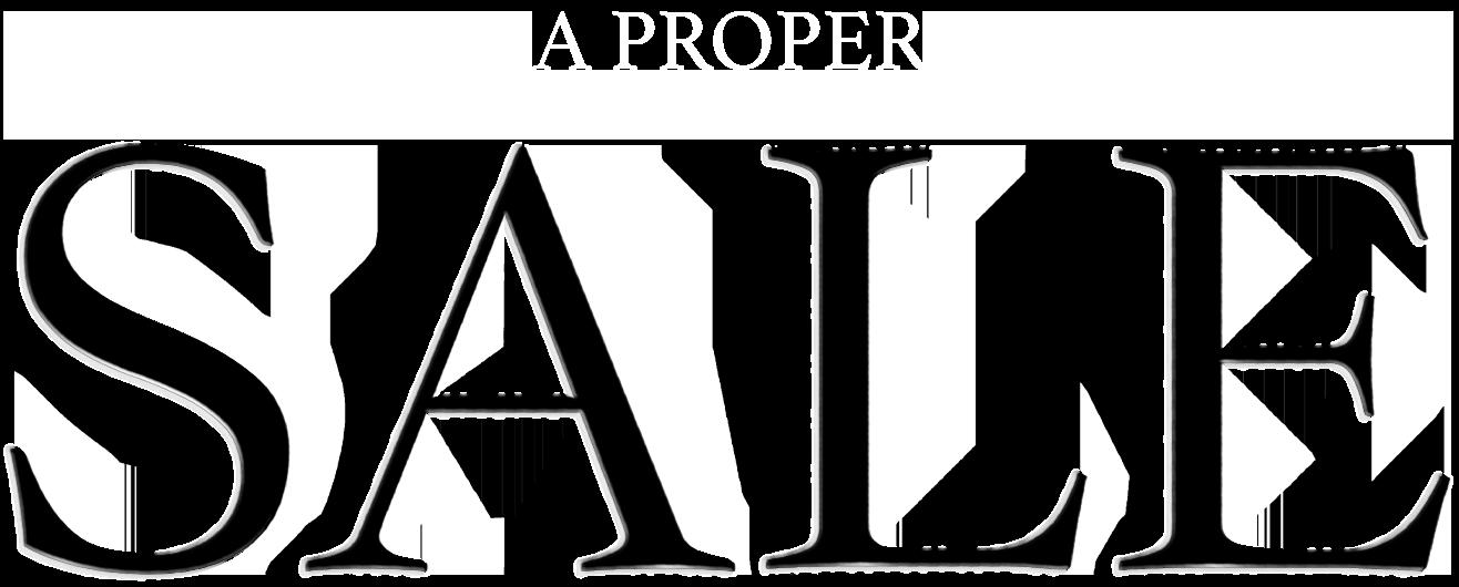 A proper sale