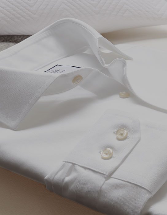 white shirt close up shot