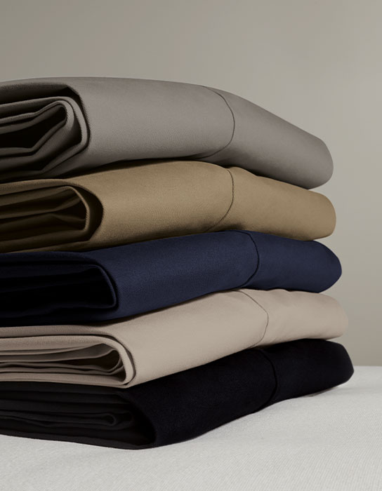 Stack of non iron chinos