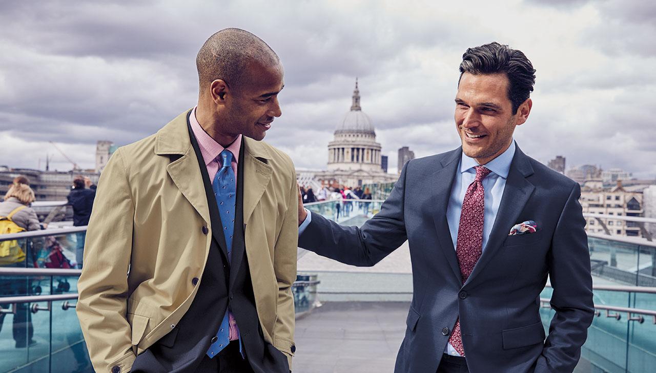 3 man wearing suits