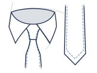 Krawatte Abbildung