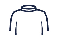 Roll neck illustration