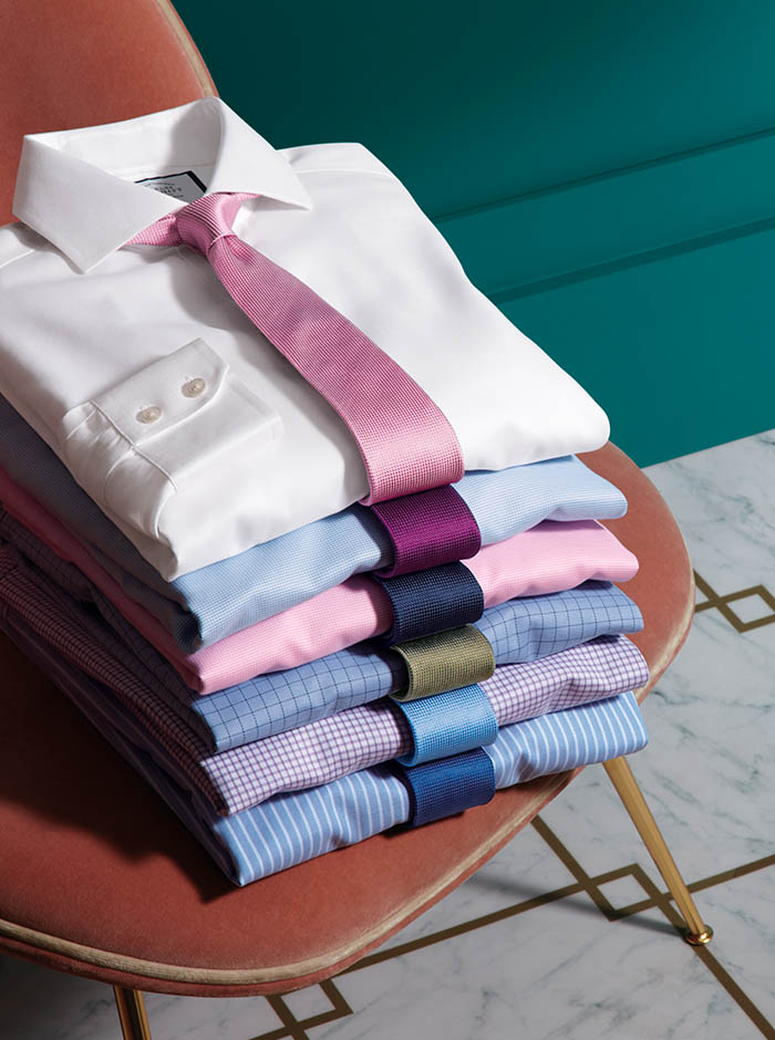 Image of four formal shirts