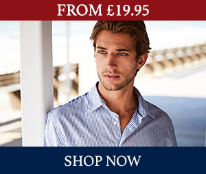 From £19.95 on casual shirts