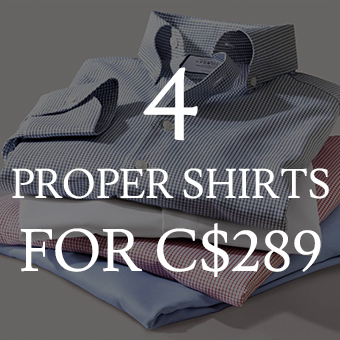 set of 4 SHIRTS