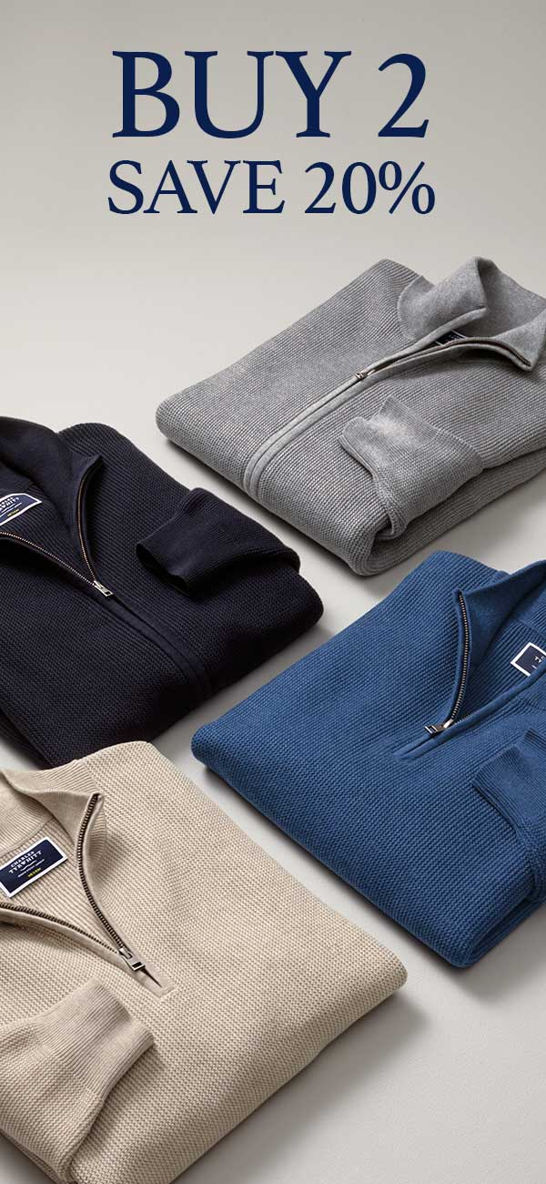 Charles Tyrwhitt knitwear multi-buy