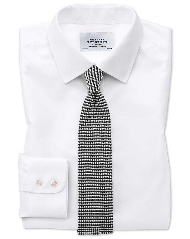 The best non iron shirts in the world charles tyrwhitt for What is a non iron shirt