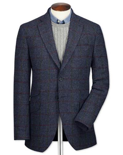 British tweed jacket