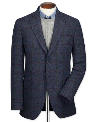 British tweed jacket​