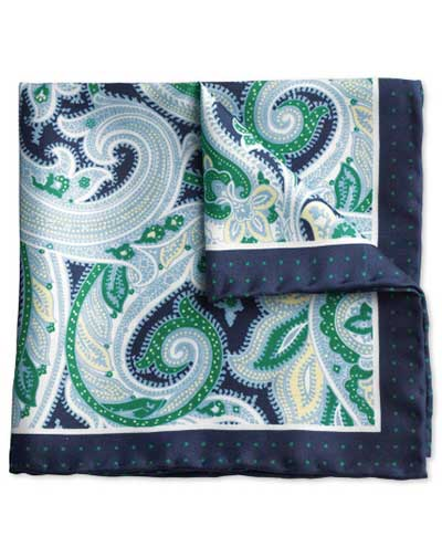 This is an image of a pocket square
